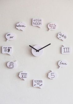 Tick Speak Clock | Mod Retro Classic Wall Decor | ModCloth.com. ** Look into even more by going to the image link
