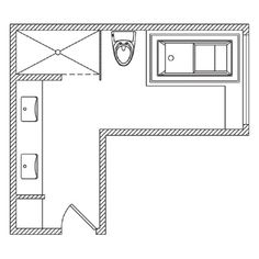 Image result for 8 x 10 master bathroom layout | Bathroom ...
