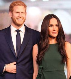 The beautiful megan markle and her charming prince harry the prince of Wales Britain