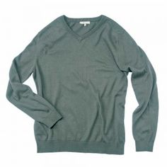 2013. Gift for Him.  Men's organic cotton v-neck sweater.  Fair Trade from Peru.  $85.  Comes in 8 colors.