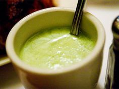Green Peruvian Aji Sauce - another recipe for this dipping sauce that I'll have to try