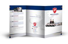 Royal Alarms Z-Fold Leaflet