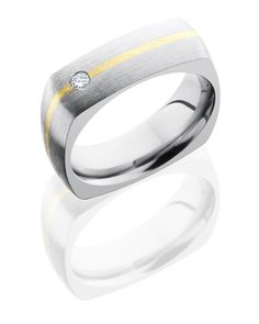 Lashbrook titanium wedding band