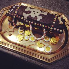 Gâteau pirate ou gâteau coffre fort