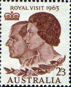 1963 Royal Visit, 2/3d.-- Issued 18 February 1963.