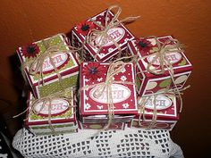 Stampin´ Up!  Kleine Geschenke