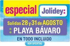 750 € Todo Incluido Playa Bávaro y 790 € Riviera Maya - Salidas 28 y 31 de agosto