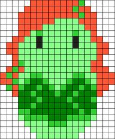 Poison Ivy Perler Bead Pattern / Bead Sprite