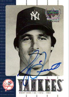 Bucky Dent-New York Yankees