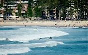 Manly Beach - one of my favorite spots in Australia.