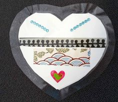 Hearts created by children from across Canada -  honouring the children lost to the Indian Residential School system and marking new possibilities in reconciliation.