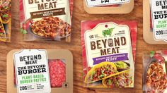 Beyond Meat Redesign on Packaging of the World - Creative Package Design Gallery