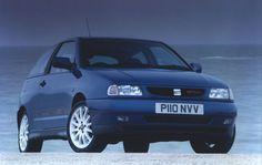 SEAT Ibiza 2.0 16v GTi Cupra Sport 1997. Lots of fun.