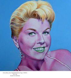 Doris Day portrait by Scott Donaldson