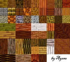 My second collection of RPG Maker resources I made myself. They can be used for parallaxing (RMVX) or may be combined with other custom tilesets (RMXP). I hope you like it. © Ayene