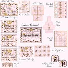 Printable Juicy Couture Package!