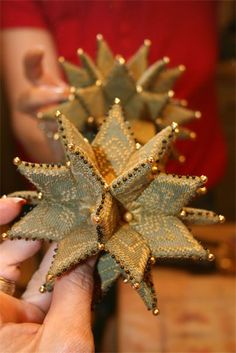 Stitching Treasures - Grandma's Star Pinkeep