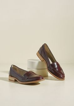 Only a Dapper of Time Loafer in Oxblood