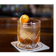 Sapphire Salted Caramel Old Fashioned: Add salted caramel syrup and fortified wine to this classic for a drink that may be old-fashioned but won't go out of style this fall.