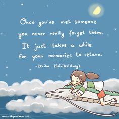 Studio Ghibli quote from Spirited Away~