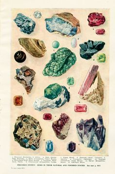 gemstone illustration - Google Search