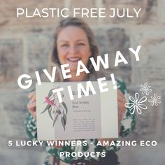 """Giveaway for a Plastic-Free July!🌱 To commemorate the occasion, we're giving away five Us and the Earth bundles to five lucky winners (swipe right to see our giveaway ) 1.Like this post and Follow @us.and.the.earth 2. Tag 3 friends in this post 3. Subscribe to our newsletter. 4. Lastly, go to our Instagram profile, click on our bitly link then into the Plastic Free July section. Answer a question about """"What is your best plastic saving tip?""""🌿 Easy!!! 💯 Plastic Free July, Earth 2, 3 Friends, Zero Waste, Saving Tips, Giveaways, This Or That Questions, Profile, Link"""