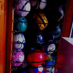 Bungie Ball Storage Idea For Corner Of Garage