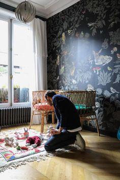Chambre filles Bébé Marianne Fersing Appartement Paris