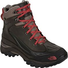The North Face Chilkat Tech Boots - Men's Coffee Brown/Rosewood Red 8.5