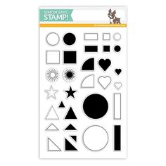 Simon Says Clear Stamp GRID PLAY SSS101794 STAMPtember