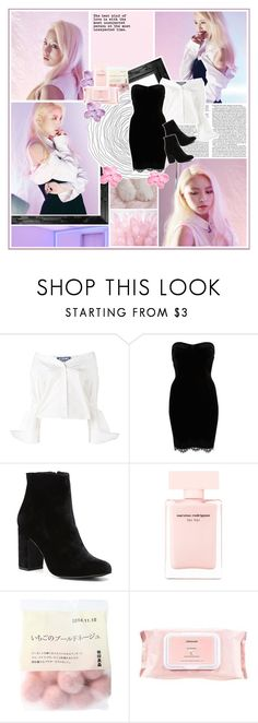"""CLC - Elkie"" by kairimikio ❤ liked on Polyvore featuring Jacquemus, River Island, Witchery, Narciso Rodriguez and Mamonde"