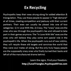 So true....my ex did