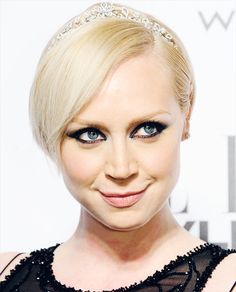 Gwendoline Christie attends the Elle Style Awards 2014 at one Embankment on February 18, 2014 in London, England.