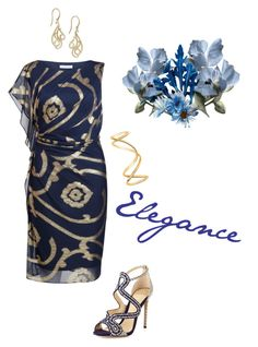 """Elegance."" by campanellinoo on Polyvore featuring Gina Bacconi, Alexandre Birman and Maison Margiela"