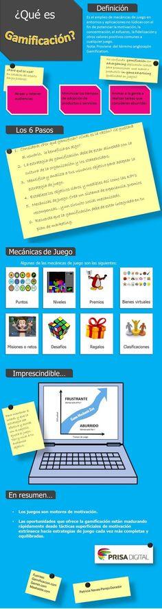Qué es gamificación #infografia #infographic | TICs y Formación | Psicología y Educación, Innovación educativa y social | Scoop.it