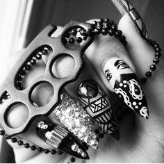 Dope nail art by Thao Dang