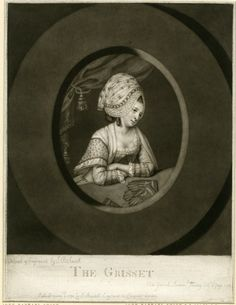 1776 cap and spotted handkerchief Image gallery: The Grisset / Grisette British Museum 1902,1011.5051