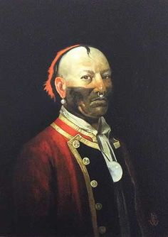 A contemporary painting of Seneca chief Red Jacket. Native American Pictures, Native American Fashion, Native American History, Native American Indians, American Indian Art, American War, Seneca, Woodland Indians, Aboriginal People