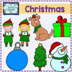 Christmas Clip Art {FREE SAMPLE}