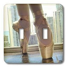 Kike Calvo Dance - Detail of a pair of ballet shoes - Light Switch Covers - double toggle switch by Kike Calvo, http://www.amazon.com/dp/B004KQ0DCK/ref=cm_sw_r_pi_dp_NGyjrb0AB7KNZ