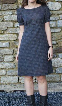robe S Le tissu vient du Stoffen Spektakel (Mons, mars 2011)    Prix de revient: 1.50m de coton imprimé  =  2.25€