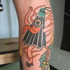 Kasa-Obake Tattoo by Monta Morino