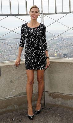 Heidi Kluml in Dolce &  Gabbana.