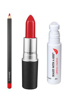 Rockette Makeup - Stage Makeup Tips - Oprah.com. MAC red covered with cosmetically sealed with a Kiss sealer