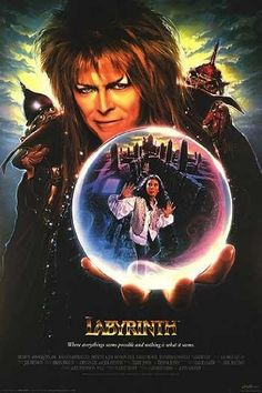 One of my favourite childhood films! Labyrith. David Bowie