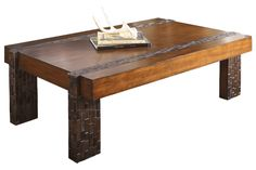 """- Brockland Cocktail Table at Ashley Furniture 54""""W x 36""""D x 17""""H"""
