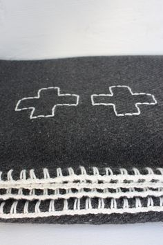 + stitched on blanket
