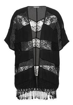 chiffon kimono with