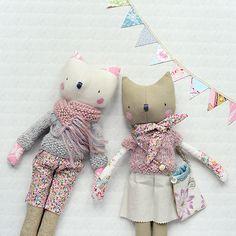 Hafferty dolls, designed and handmade by Sarah Gardner