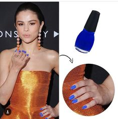 A brand-new manicure is a beloved pick-me-up for any beauty buff, whether you prefer to hit the salon or do your own at home. Regardless, when it comes to polish, we can all get stuck in a bit of a rut. Which is why celebrities are one of our most… Sinful Colors Nail Polish, Nail Colors, Selena Gomez Nails, Nail Art Instagram, Red Carpet Manicure, Celebrity Nails, Celebrity Style, Latest Nail Art, Foot Cream